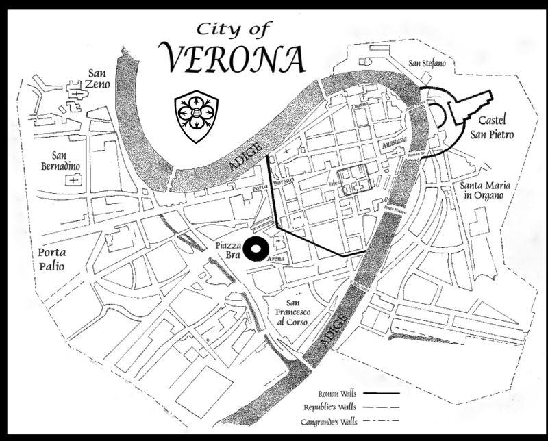 Verona City Map 9